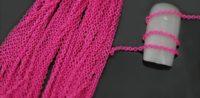 Nailart Kette pink