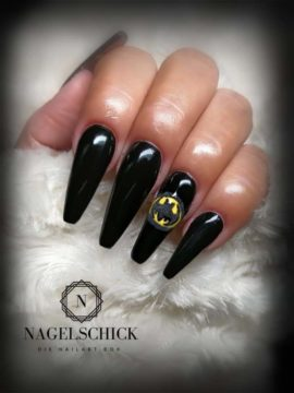Nagelschick Wetlook Farbgel Black Devil 2