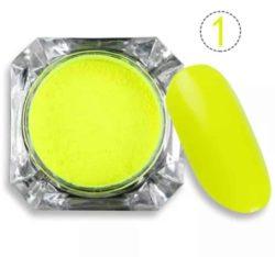 Neon gelb 1