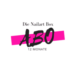 Die Nailart Box Abo 12M