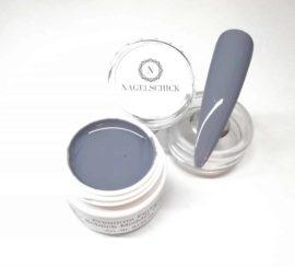 Nagelschick Premium Farbgel Schlick Modder Grau 1