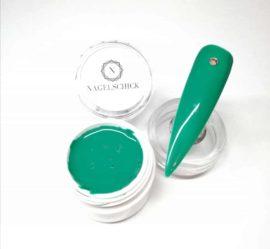 Nagelschick Premium Farbgel Grün 1