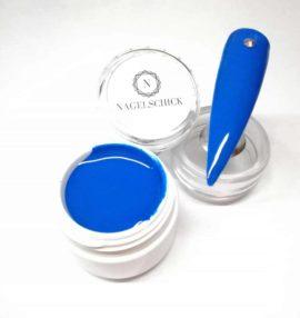 Nagelschick Premium Farbgel Nautic Blue 1