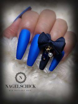 Metallic Farbgel Kings Blue.