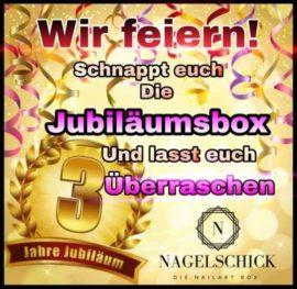 Die Nailart Box - Jubiläumsbox bei Nagelschick