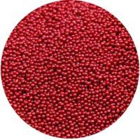 Micro Perlen Weinrot
