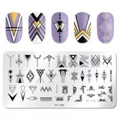 Stamping Platte