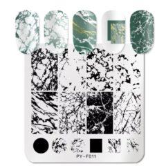 Stamping Platte Marmor