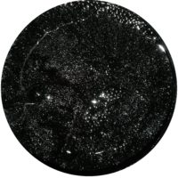 Metallic Farbgel Black Star