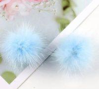 Puschel Pastell Blau