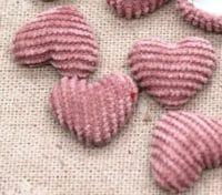 Strick Herz Herbst Rosa